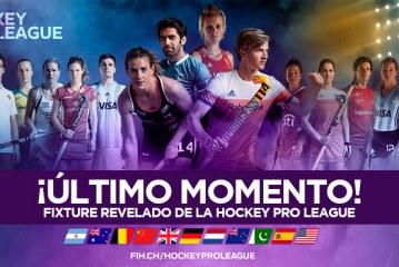 Hockey PRO League, fixture 2019
