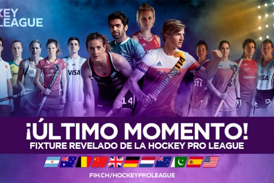 Hockey PRO League, fixture 2019