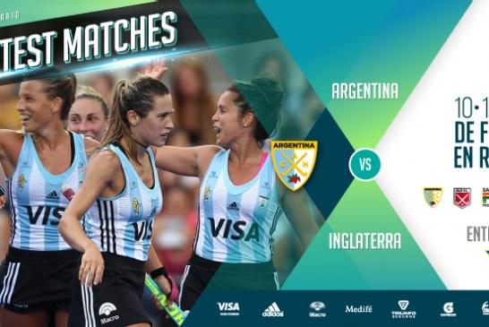 Las Leonas vs. Inglaterra en Rosario