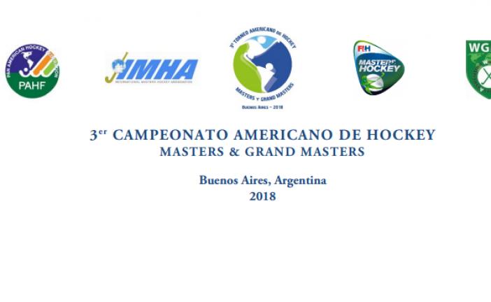 3er CAMPEONATO AMERICANO DE HOCKEY MASTERS & GRAND MASTERS