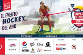 """""""Super Nine"""" Torneo Internacional de Hockey en Chile"""