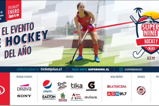 """Super Nine"" Torneo Internacional de Hockey en Chile"