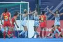 Las Leonas le ganaron a China en el cierre de una exitosa gira