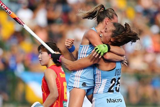 Las Leonas le ganaron a China en Rosario