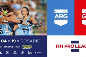 Las Leonas vs. Gran Bretaña en Rosario por la Pro League