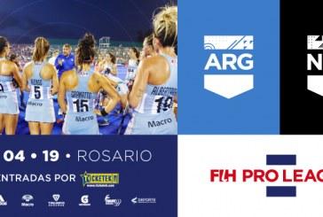 Las Leonas vs. Nueva Zelanda en Rosario
