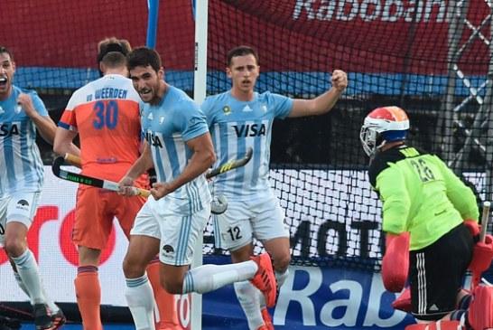 Los Leones vencieron a Holanda y están a un paso de la gran final