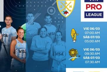 FIH Pro League: Leonas y Leones vs. Australia