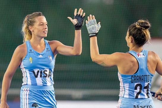 Las Leonas vs. Alemania, punto bonus para las argentinas